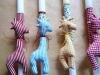 Pen - Πασχαλινές λαμπάδες με χειροποίητες φιγούρες ζώων