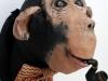 Pen, «Μαϊμού», χαρτί, ύφασμα, ακρυλικά χρώματα