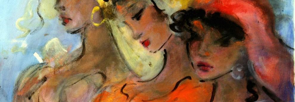 Μιχαήλ Παπαγεωργίου - Doris (λάδι σε καμβά 50 x 70 cm)