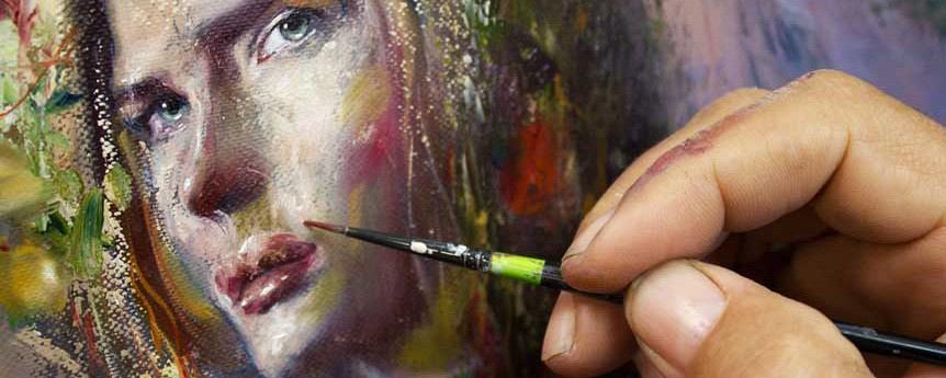 Koutrikas - painting detail